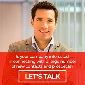 Cold Calling Company Call to Action Graphic - Is your company interested in connecting with a large number of new contacts and prospects?