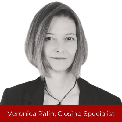 VeronicaPalin, Closing Specialist